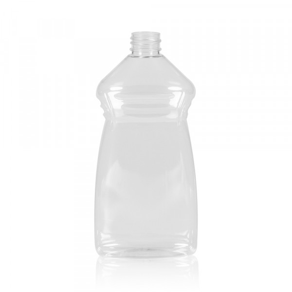 500 ml bottle Wash PET transparent 28.410