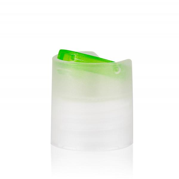 Disc-top PP natural/green 24.410