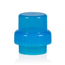 Dosingcap PP blauw 567