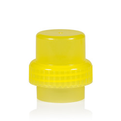 Dosingcap PP yellow 567