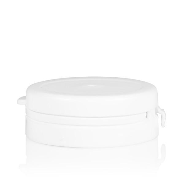 Guarantee lid Pharma cylinder 43 mm white
