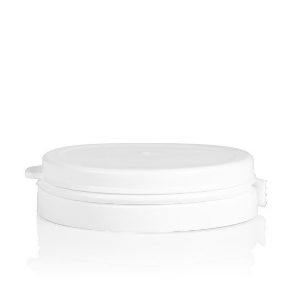 Guarantee lid Pharma cylinder 60 mm white