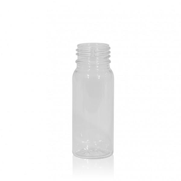 50 ml juice bottle Juice mini shot PET transparent 28PCO