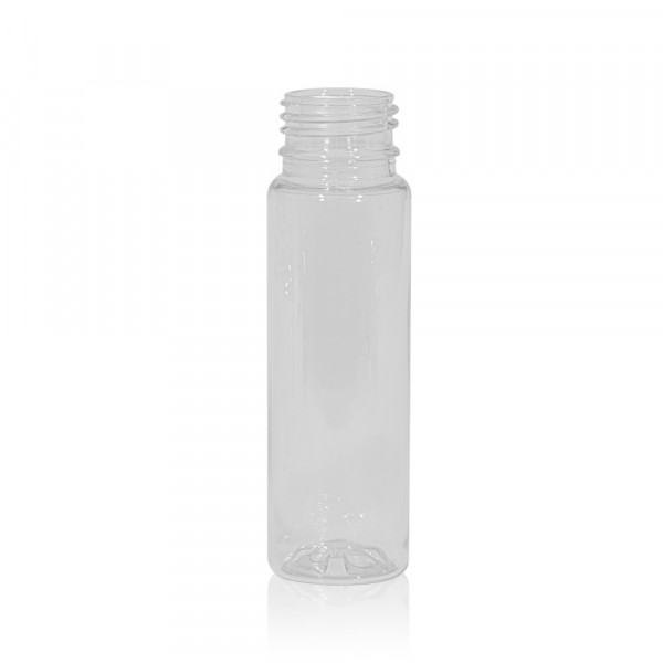 75 ml juice bottle Juice mini shot PET transparent 28PCO