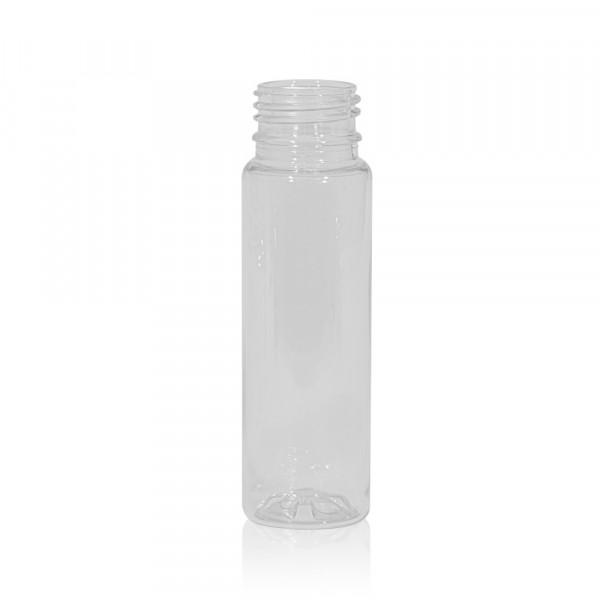 75 ml juice bottle Juice mini shot PET transparent 28PCO