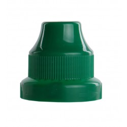 childproof cap + insert PP green 603