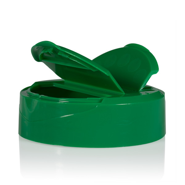 Fliptop lid PP green