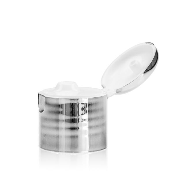 Fliptopcap PP chrome/natural 24.410