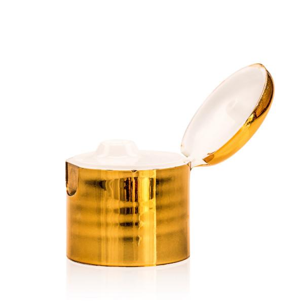 Fliptopcap PP gold/natural 24.410