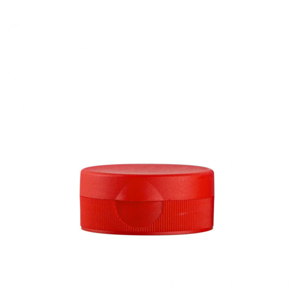 Fliptopcap + sealing membrane PP red 38.400