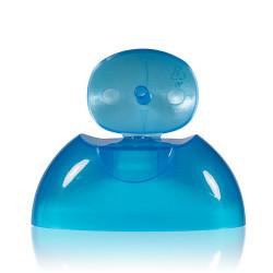 Fliptopcap PP blauw 343