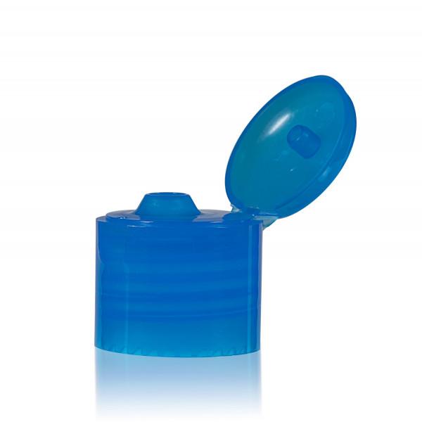 Fliptopcap PP blauw 24.410