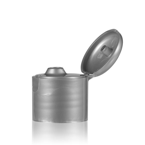 Fliptopcap PP silver 24.410