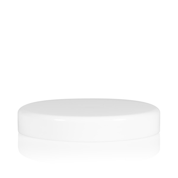 Screw lid Big clear 100 mm white