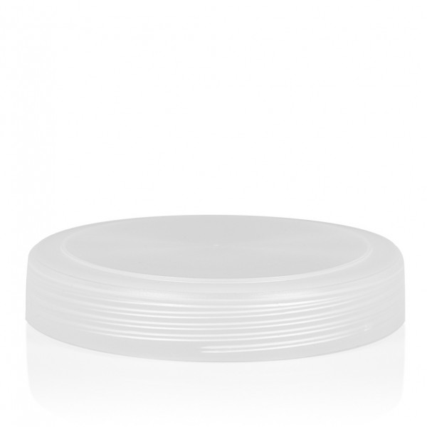 Screw lid Frosted sharp 500 ml PP silver