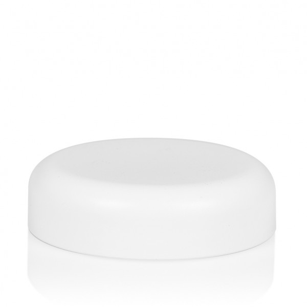 Screw lid Frosted soft 100 ml PP white