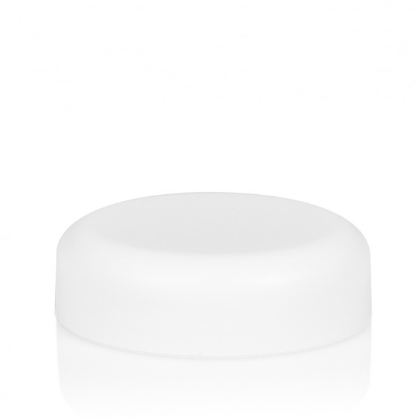 Screw lid Frosted soft 30 ml PP white