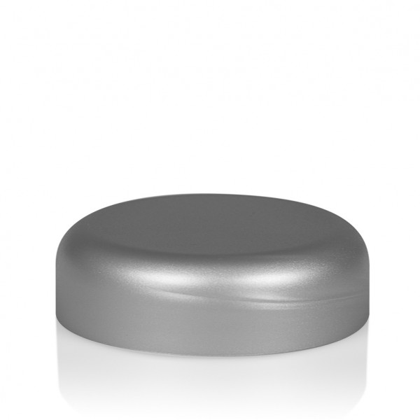 Screw lid Frosted soft 30 ml PP silver
