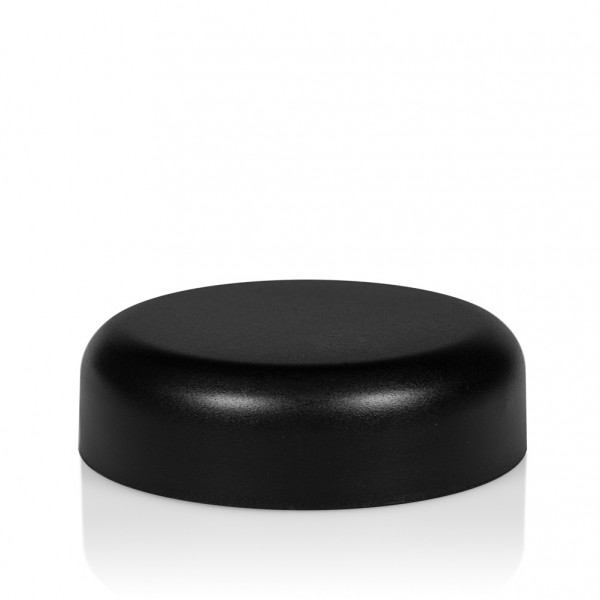 Screw lid Frosted soft 30 ml PP black