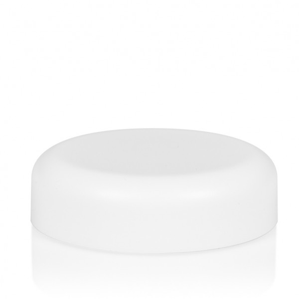 Screw lid Frosted soft 50 ml PP white