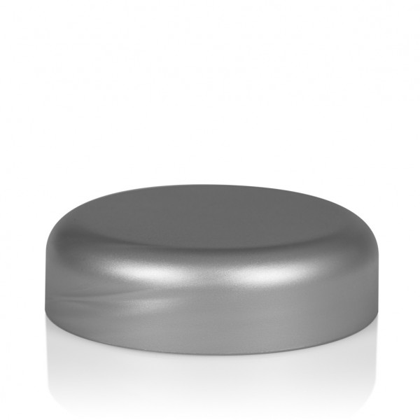 Screw lid Frosted soft 50 ml PP silver