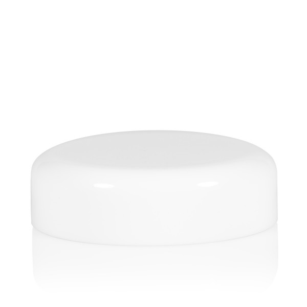 Screw lid Glossy 8 ml PP white