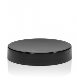 Screw lid Glossy sharp 100 ml PP black
