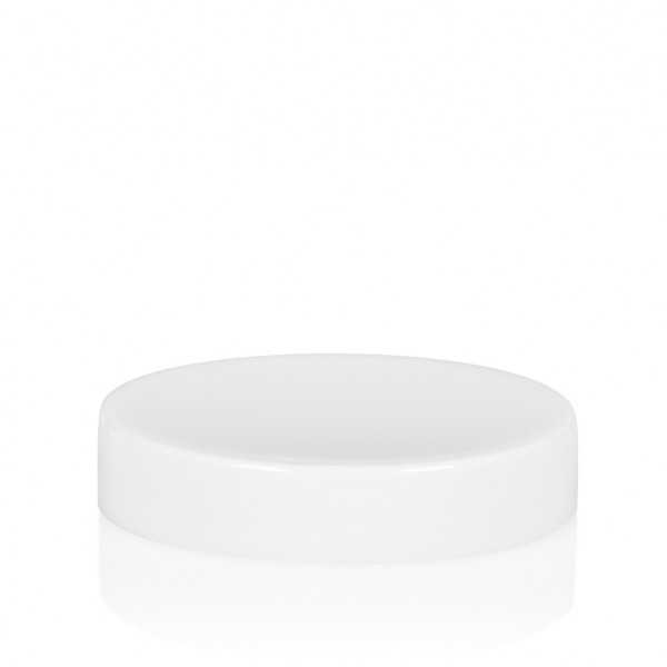 Screw lid Glossy sharp 25 ml PP white