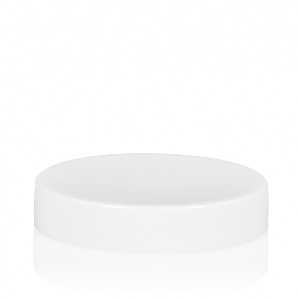Screw lid Glossy sharp 50 ml PP white