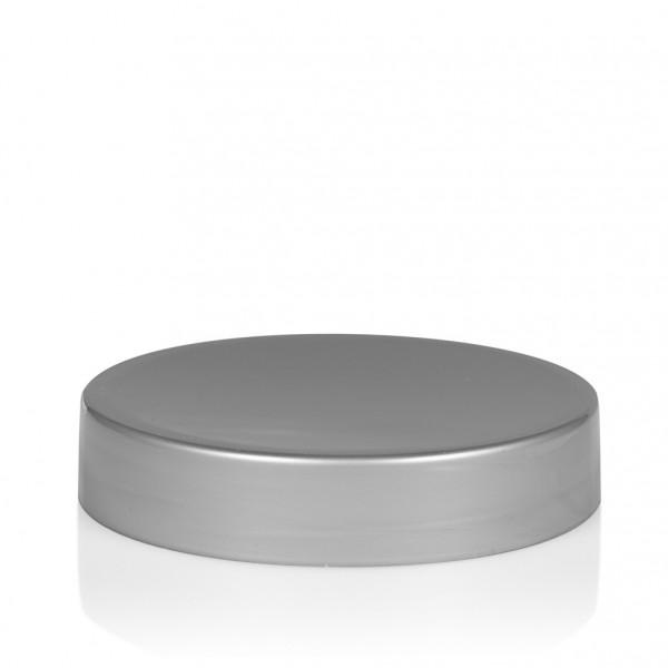 Screw lid Glossy sharp 50 ml PP silver