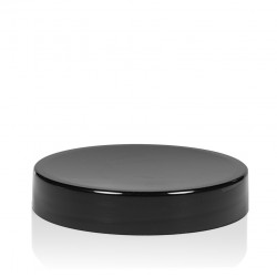 Screw lid Glossy sharp 50 ml PP black