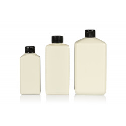 100% Recycled Standard Square R-HDPE bottles