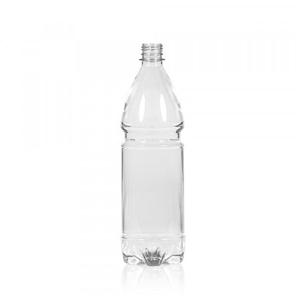 1000 ml bottle Water PET transparent 28PCO