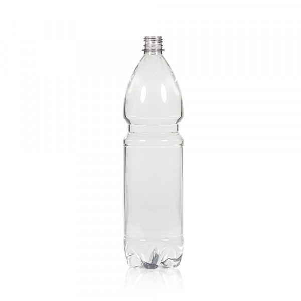 1500 ml bottle Water PET transparent 28PCO