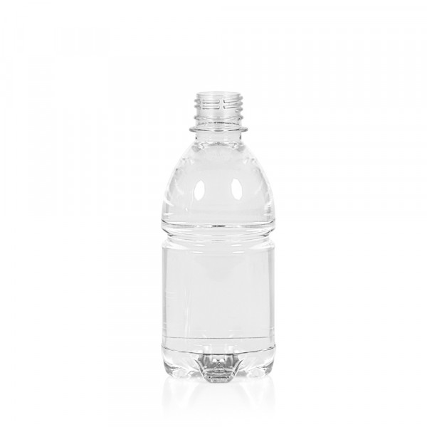 330 ml bottle Water PET transparent 28PCO