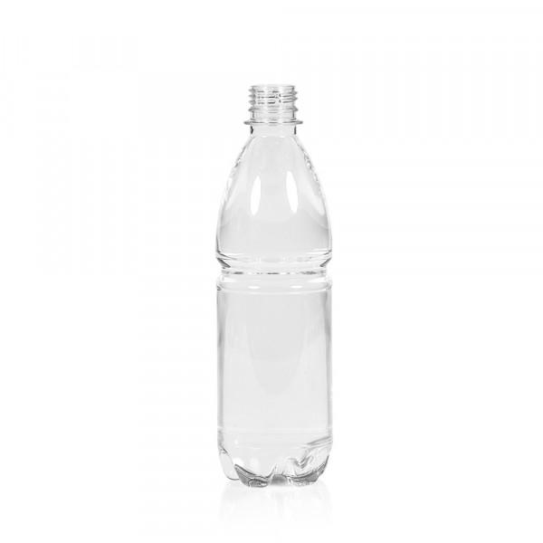 500 ml bottle Water PET transparent 28PCO